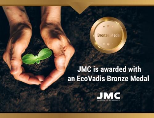 ㈜제이엠씨, 지속가능성에 대한 동메달 수상