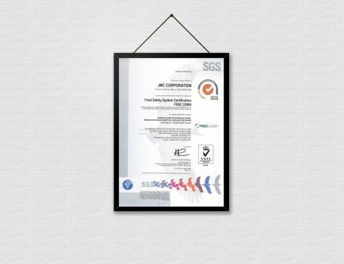 JMC Renews Food Safety Certification